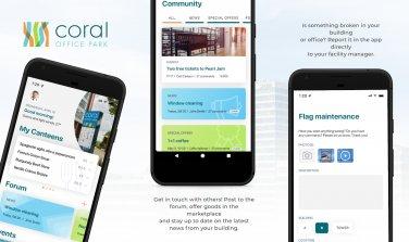 Mobilní aplikace Coral Office Park